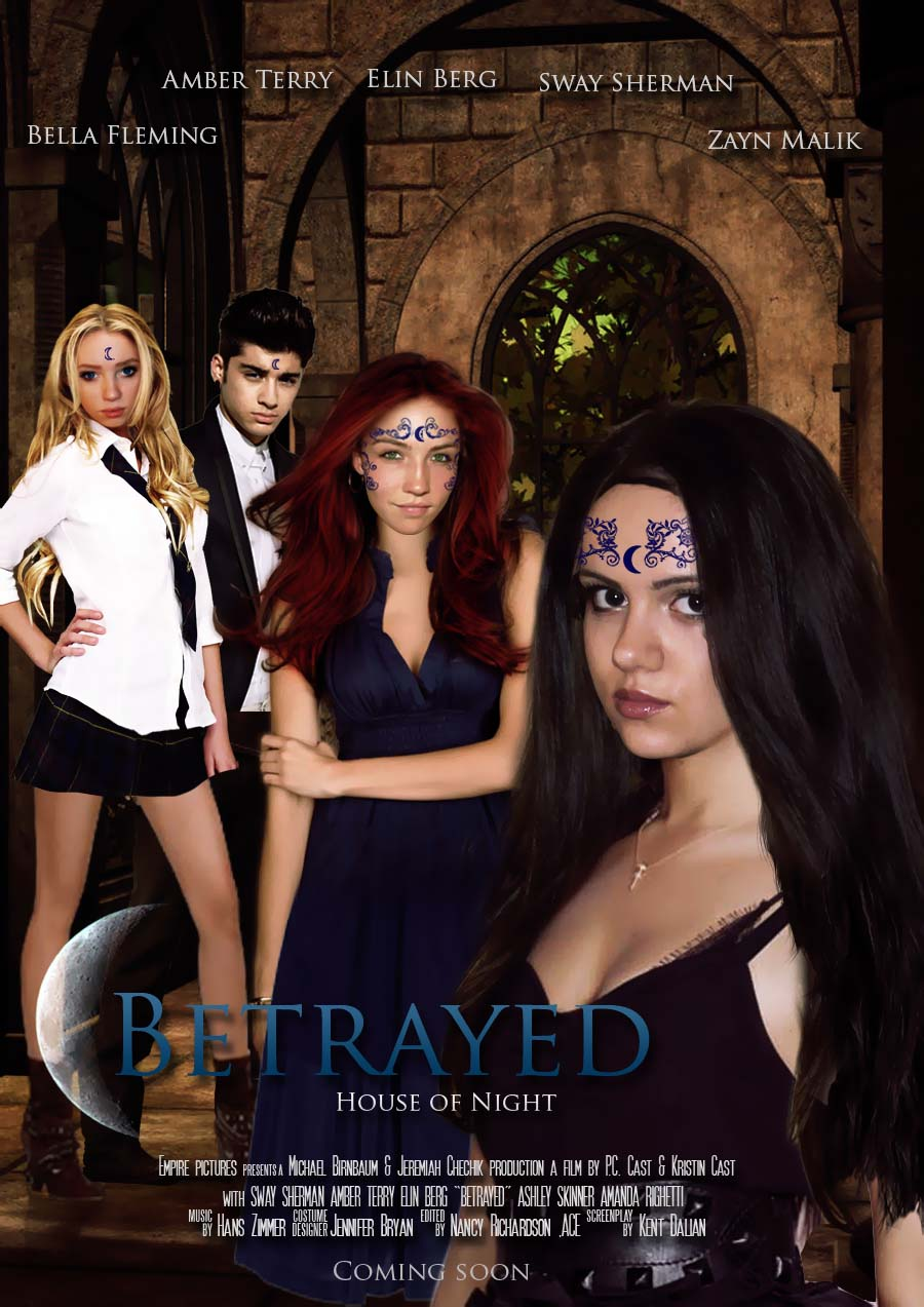 House of night betrayed movie poster by zvunche on deviantart for Housse of night