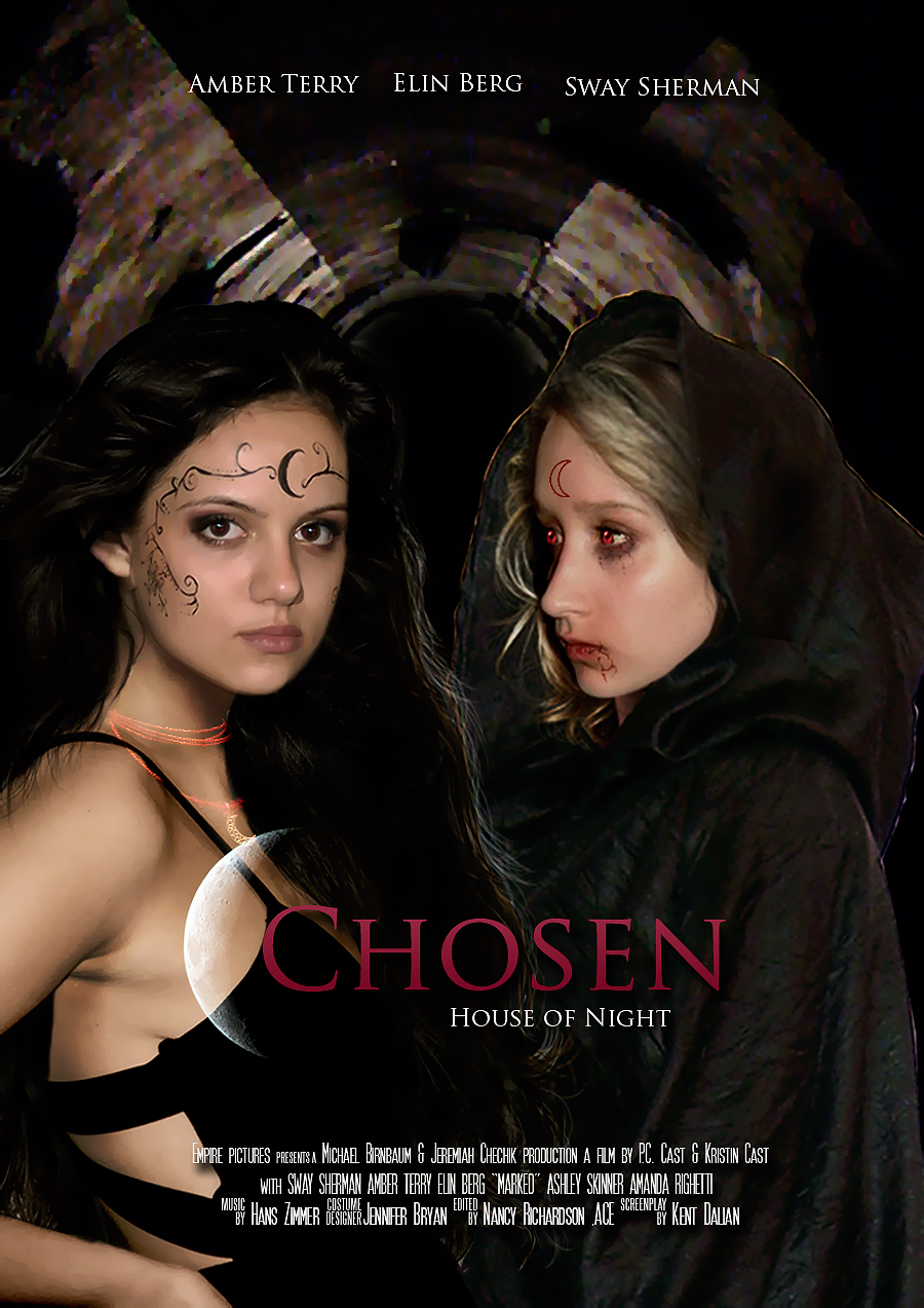 House of night chosen movie poster by zvunche on deviantart for Housse of night