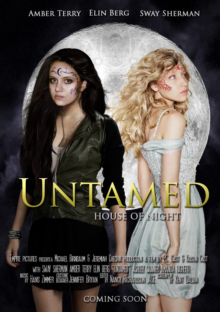House of night untamed movie poster by zvunche on deviantart for Housse of night