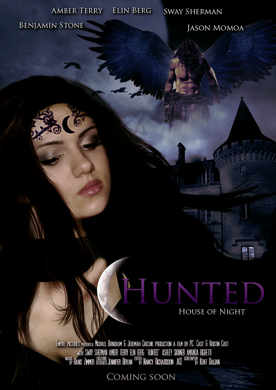 House of night hunted movie poster by zvunche on deviantart for Housse of night