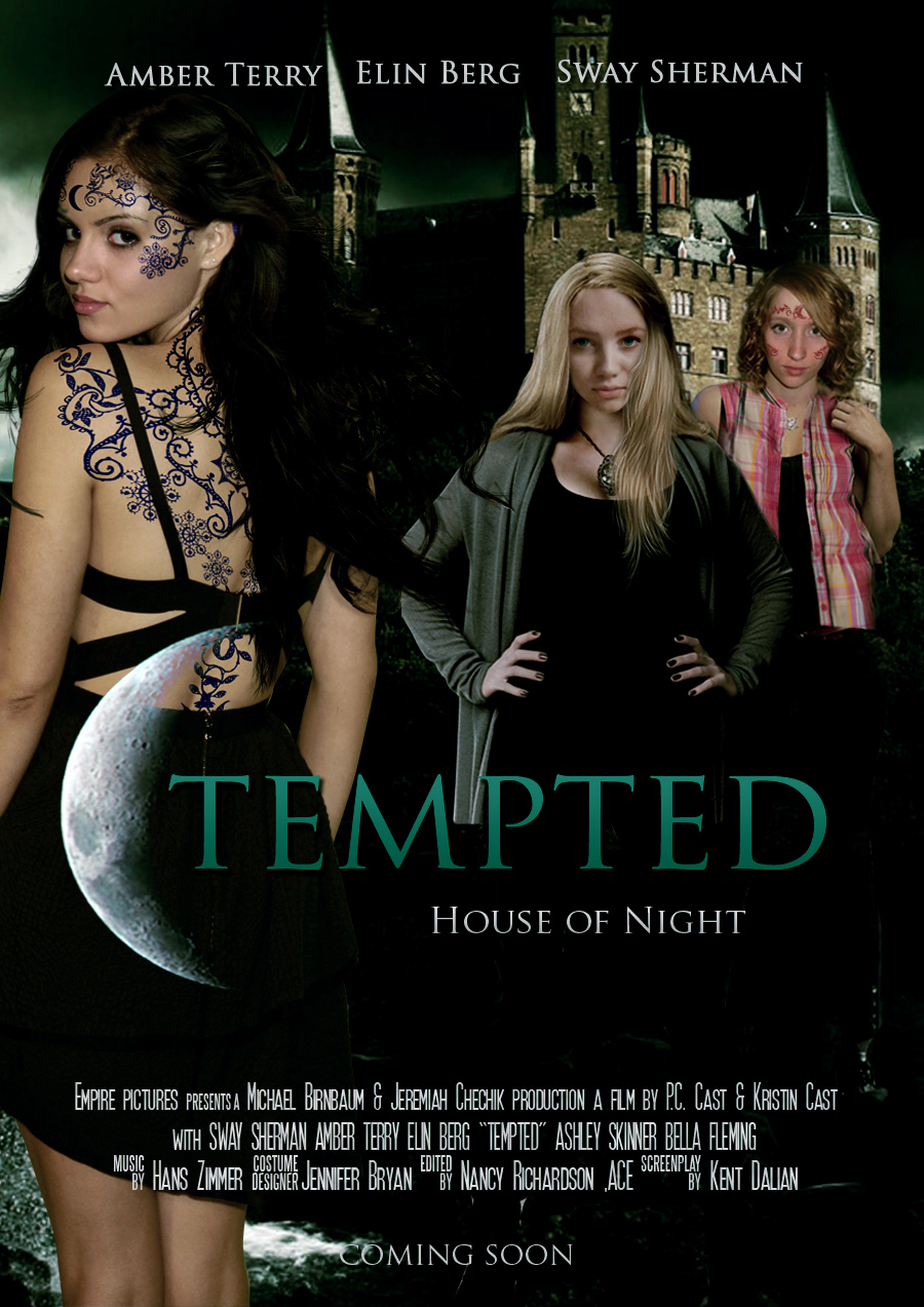 House of night tempted movie poster by zvunche on deviantart for Housse of night