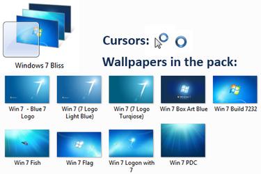 Windows 7 Theme -- Bliss by mav3