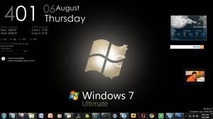 August Windows 7 Desktop by mav3