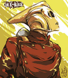 The Rocketeer by scrimmshaw