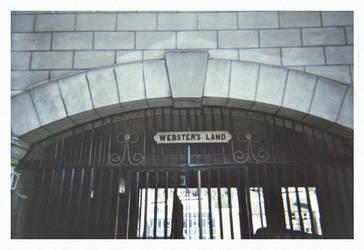 Edinburgh - Webster's Land by docscream