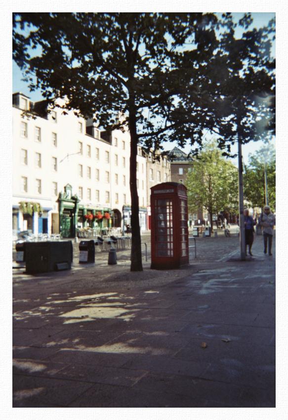 Edinburgh - phone call