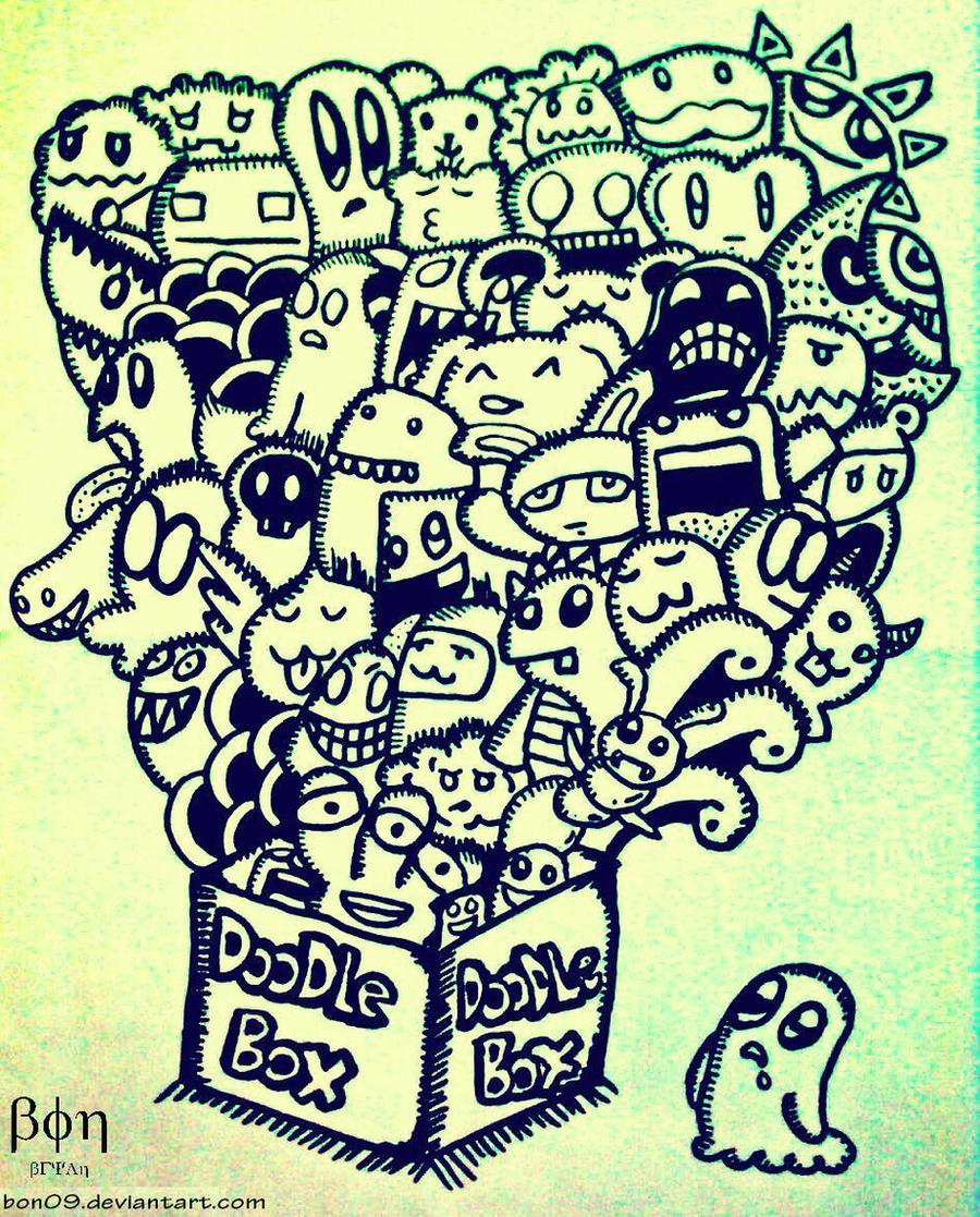 Doodle Box by Bon09 on DeviantArt