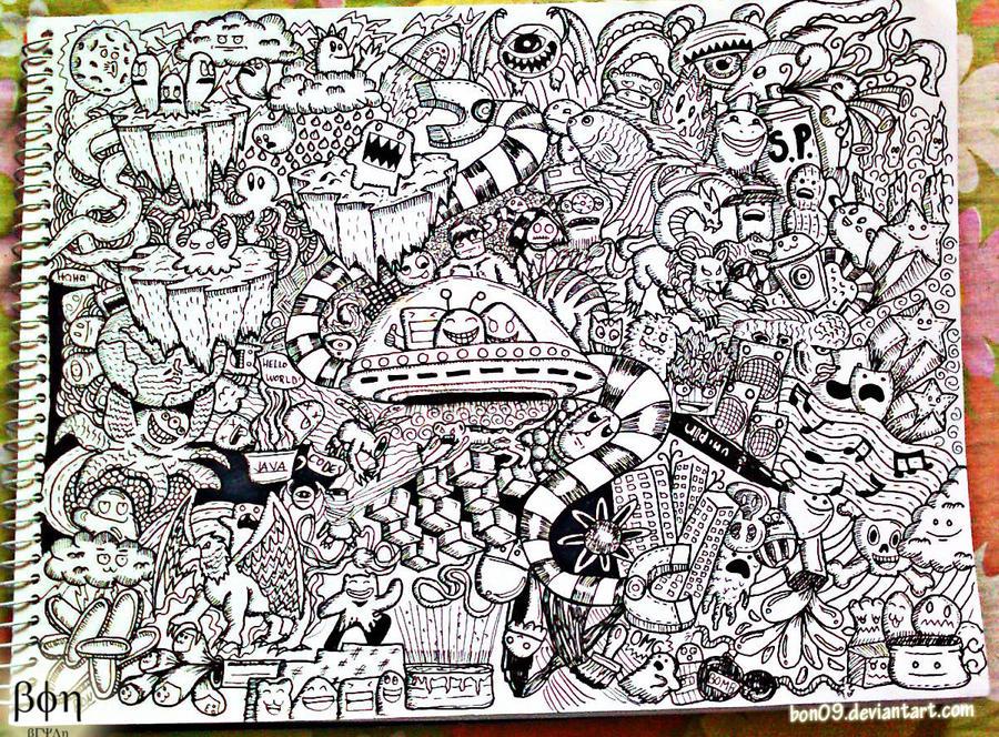 www deviantart com cute doodle monsters 900 x 664 jpeg 407kb