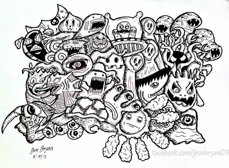 Cute Monster Doodles - Bing images