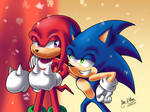 Sonic and Knuckles TSR Overdrive Redraw