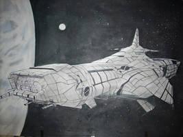 Spaceship by Golan77