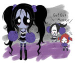 Gloomy Cheerleaders