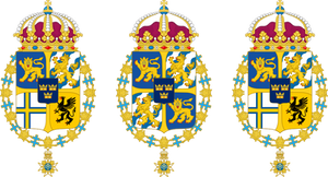 Alternative coats of arms of Sweden