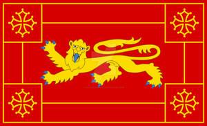 Flag of Guyenne (Guiana)
