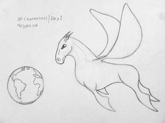 Megasus - 30 Characters, 2012: Day 1,