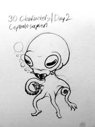 Cephalosapien - 30 Characters, 2012: Day 2