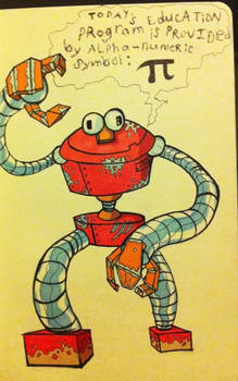Robot Elmo