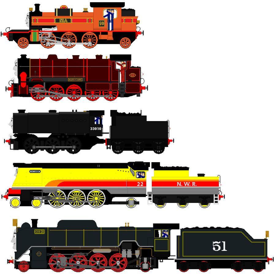 rebuild   engines  austintheredsteam  deviantart