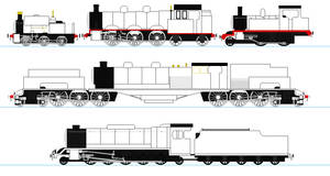 Freelance locomotives Part 1