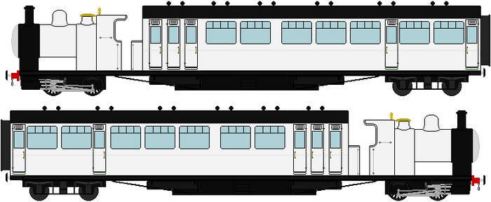 Engine Base #43 The Ivatt GNR Rail Motor Coach