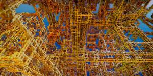 Rusty Refinery 3 by MarkJayBee