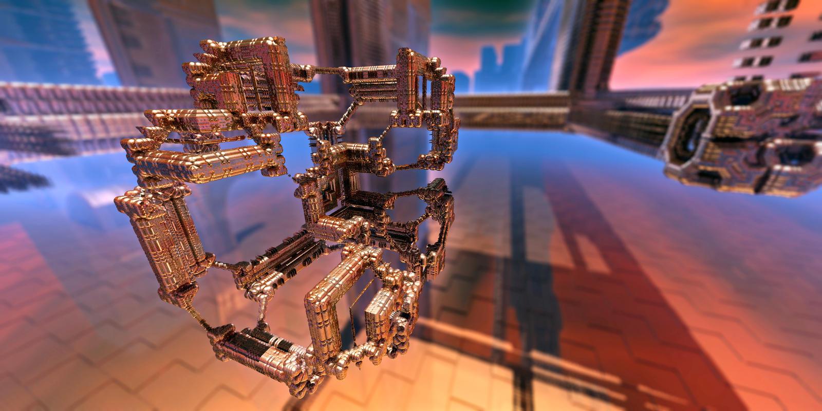 MiniMech by MarkJayBee