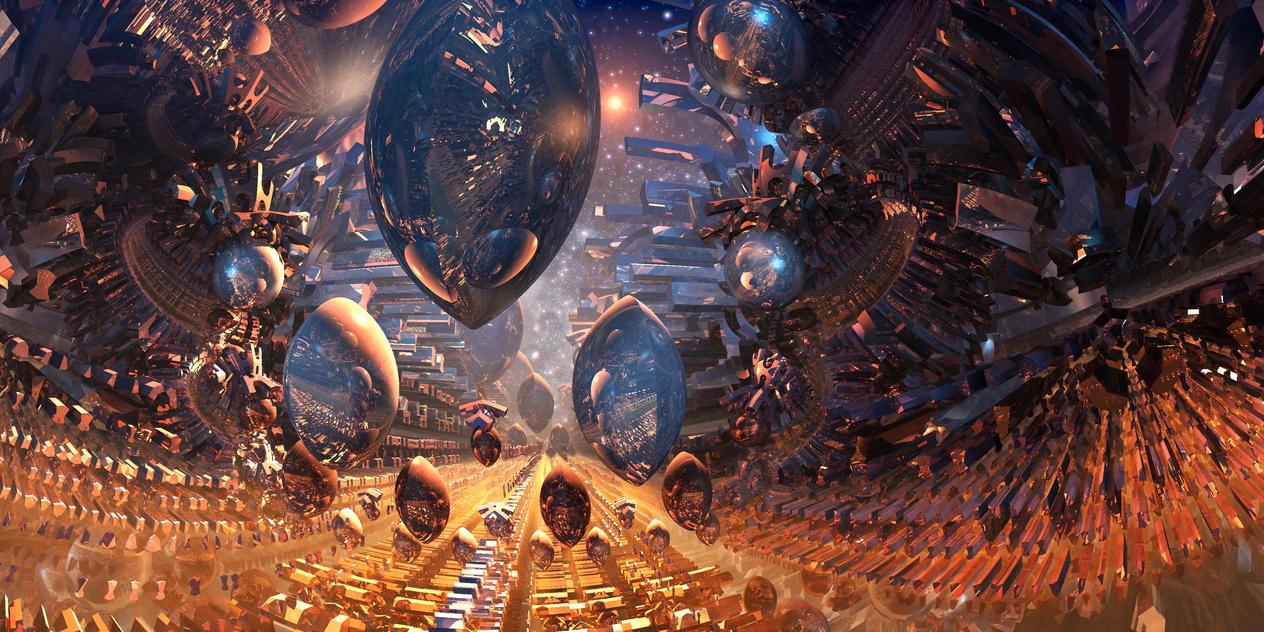 Boulevard des Infinite by MarkJayBee
