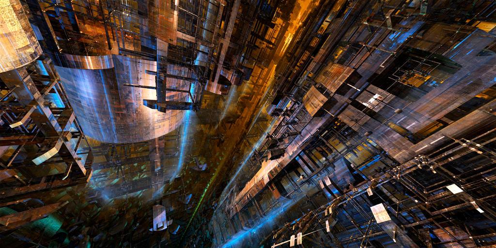 InfraStructure III by MarkJayBee