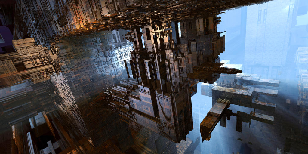 SubStructure 1 by MarkJayBee