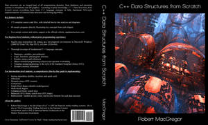 'C++ Data Structures from Scratch' Book Jacket Art