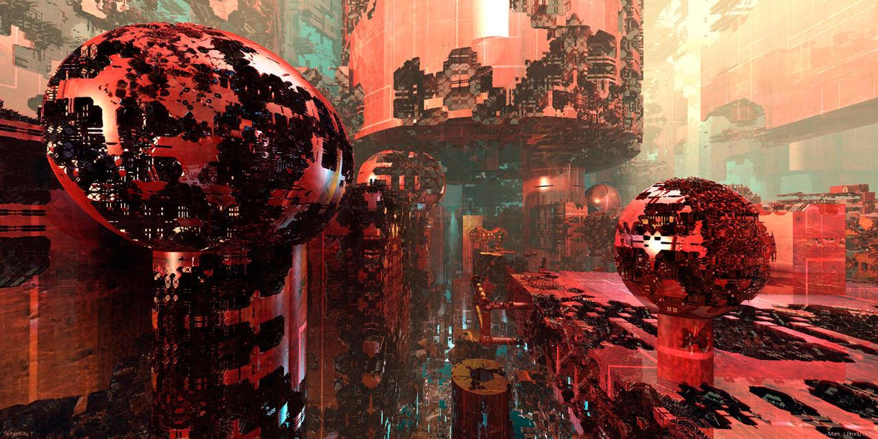 SpheriCity 1 by MarkJayBee