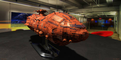 RPG Ship Model 2 by MarkJayBee