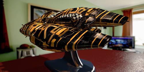'RPG Ship Model 4'