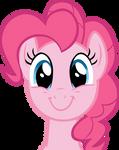 An apparently happy Pinkie Pie