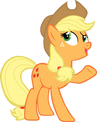 Applejack on replanting by SuxtonHael