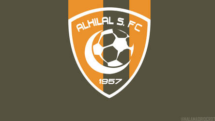 Alhilal club wallpaper by TALALHAMDAN