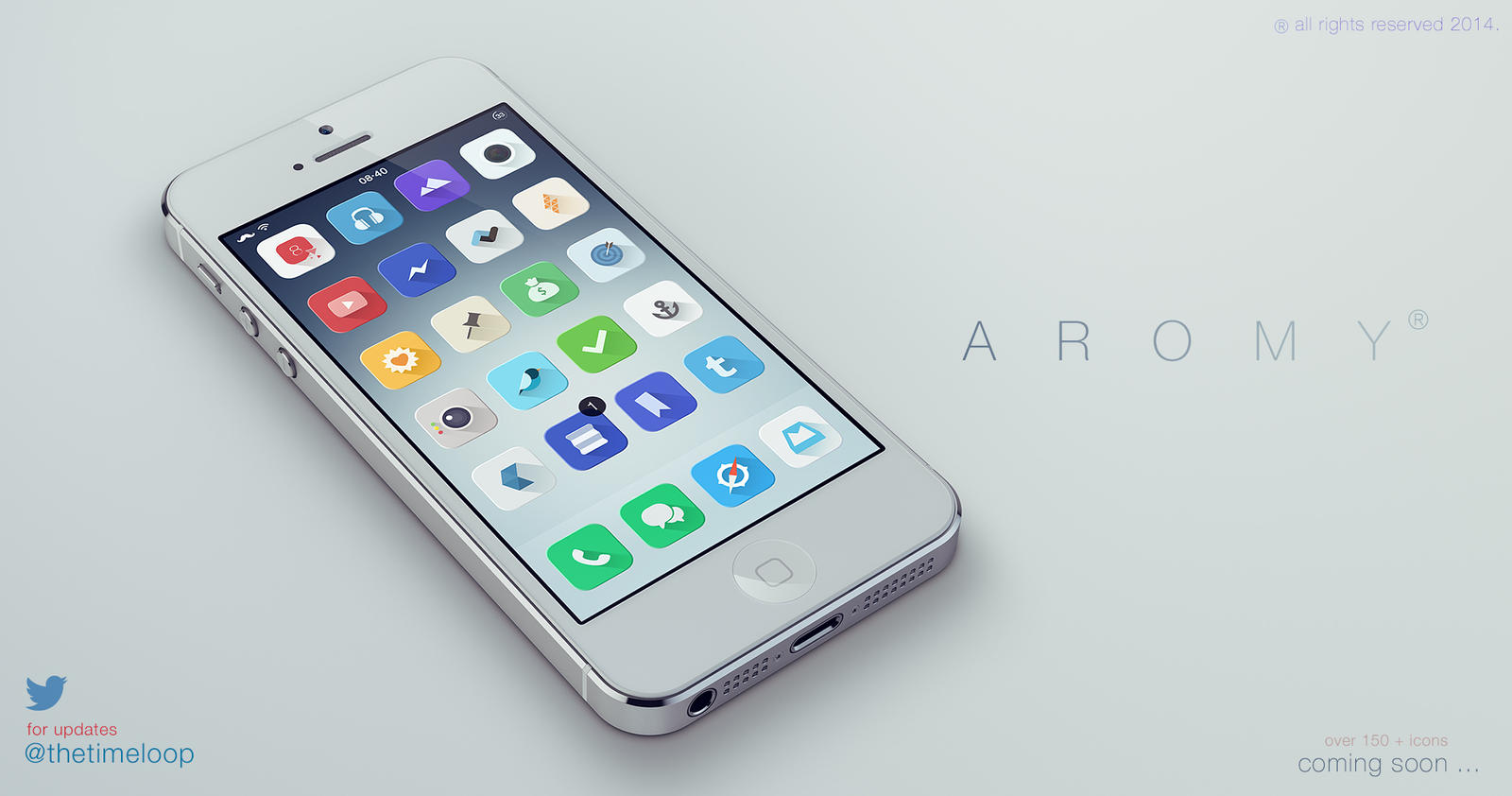 Aromy - iOS 7 Theme - LAUNCHED - by thetimeloop