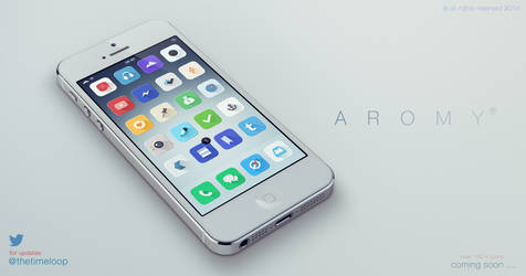 Aromy - iOS 7 Theme - LAUNCHED -