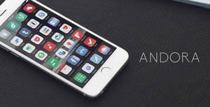 Andora theme iOS 8 - Released