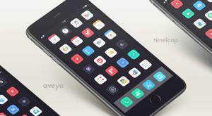 Aveya theme iOS 8