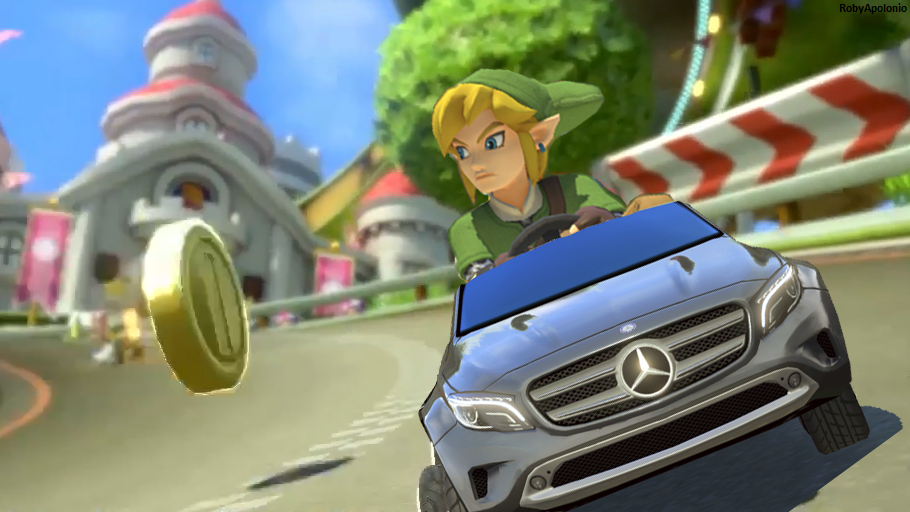 Mario Kart 8 DLC Mercedes Benz Link by RobyApolonio on ...