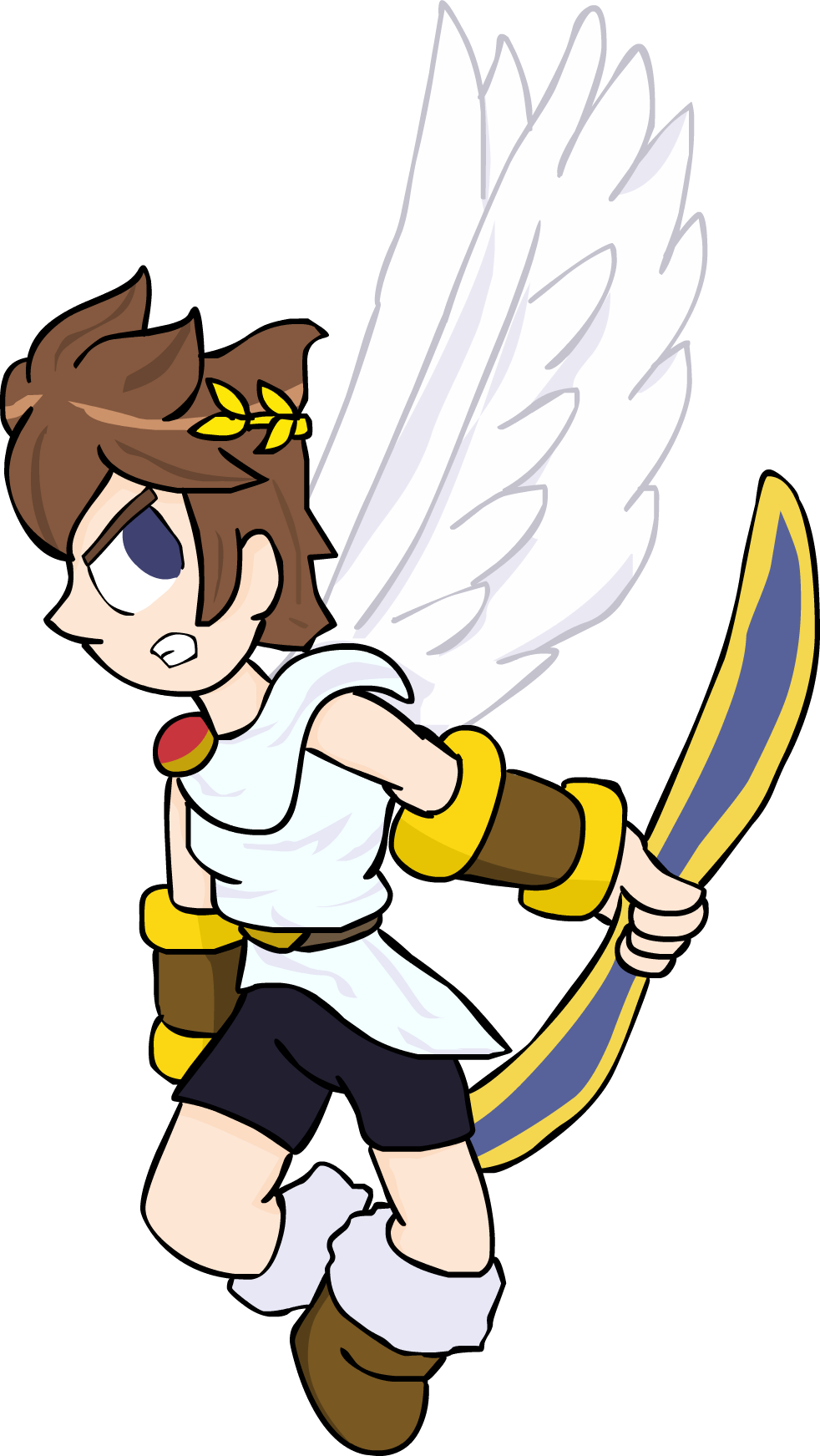 Pit Kid Icarus Uprising By RobyApolonio On DeviantArt