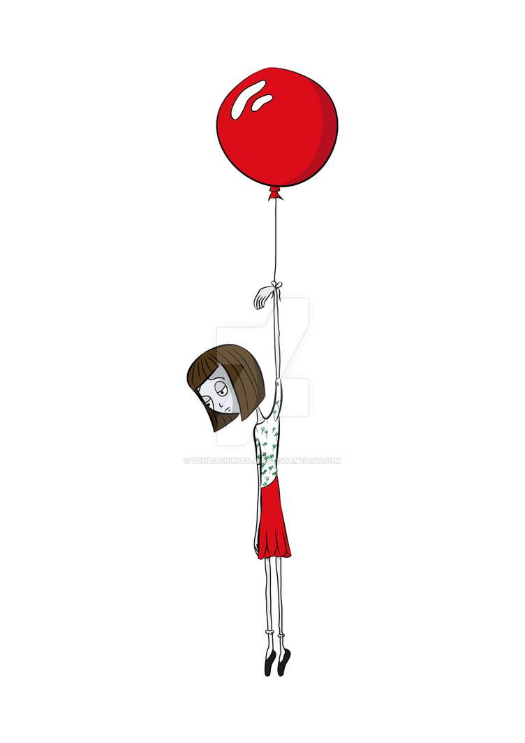 Ballon Girl by TehLookingGlass