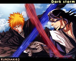 I will defeat you Byakuya by Dark-strom