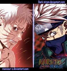 Naruto 686- good bye kakashi by Dark-strom