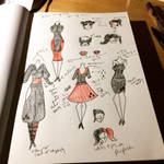 Harley Quinn Fashion Designs