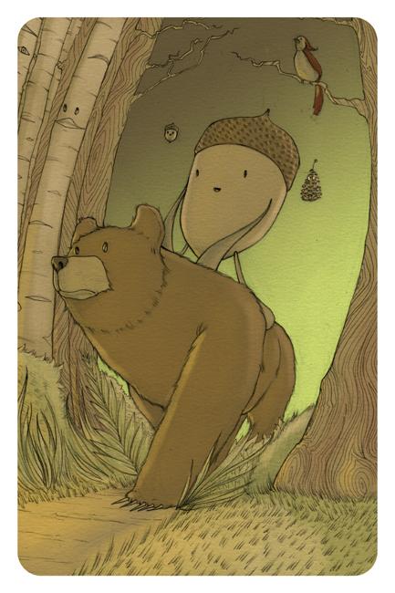 brown burrz by pandanj