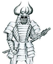 Skull Samurai by Gref313