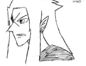 Saix from Kingdom Hearts