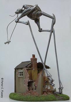 Martian War Machine and House 2